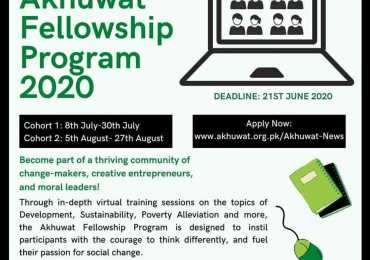Akhuwat Fellowship 2020 www.akhuwat.org.pk Application Form