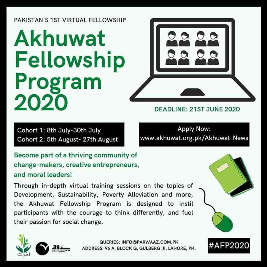 Akhuwat Fellowship 2020 www.akhuwat.org.pk Application Form