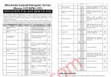 Rescue 1122 Jobs Application Form 2020 Download