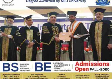 Usman Institute Of Technology UIT Admission 2020 Online Form