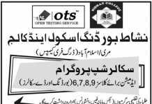 Nishat School And College Islamabad Admission 2020
