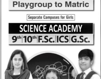 Unique Junior And High School Lahore Admission 2021