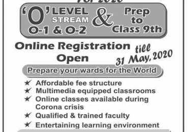 Fazaia Degree College Peshawar Admission 2020