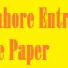 GCU Lahore Entry Test Sample Paper 2021 Download PDF