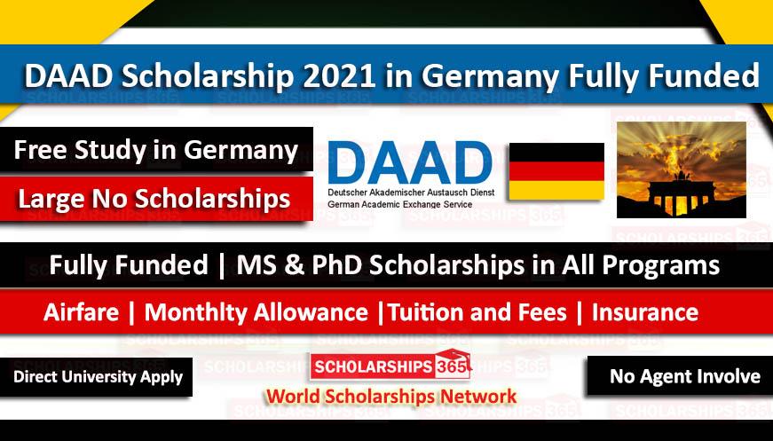 DAAD Scholarship 2021 for Pakistani Students