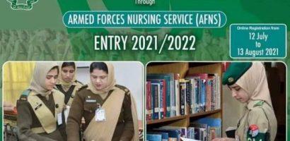 AFNS Online Registration 2021 Form Last Date